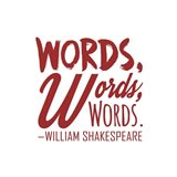 Words Words Words Shakespeare Red