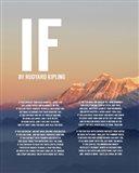 If by Rudyard Kipling - Mountain Sunset