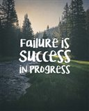 Failure Is Success In Progress - Forest