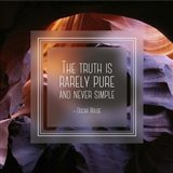 The Truth is Rarely Pure - Canyon