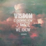 Wisdom is Knowing How Little We Know - Pink Clouds