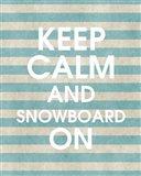 Snowboard On Part II