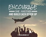 Encourage One Another - Celebrating Team