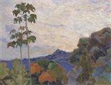 Martinique Landscape (detail)