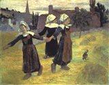 Breton Girls, 1888