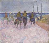 Reiter Am Strand (Cavaliers Sur La Plage), 1902