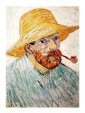 Self Portrait, 1888 wearing a hat