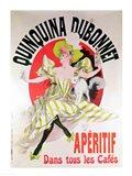 Poster advertising 'Quinquina Dubonnet' aperitif, 1895