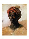 Portrait of a Turk in a Turban, c.1826