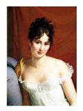 Portrait of Madame Recamier - detail