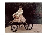 Jean Monet on his Hobby Horse, 1872