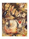 The Garden of Earthly Delights: Allegory of Luxury, central panel of triptych, c.1500