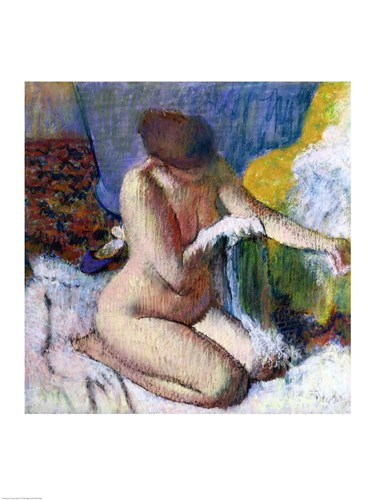 After the Bath, 1895 Poster by Edgar Degas for $32.50 CAD