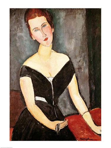 Madame G. van Muyden, 1917 Poster by Amedeo Modigliani for $32.50 CAD
