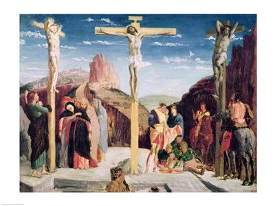 Calvary, after a painting by Andrea Mantegna Poster by Edgar Degas for $32.50 CAD