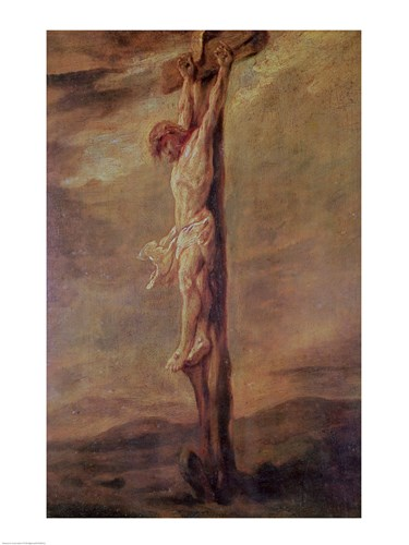 Christ on the Cross, c.1646 Poster by Rembrandt van Rijn for $32.50 CAD