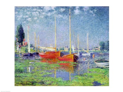 Argenteuil, c.1872-5 Poster by Claude Monet for $67.50 CAD