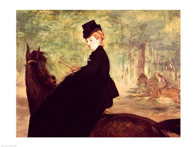 The Horsewoman, 1875 Poster by Edouard Manet for $32.50 CAD