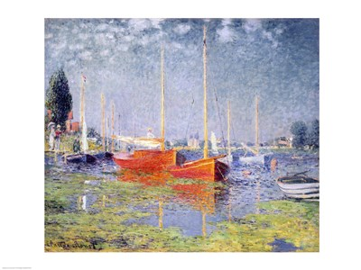 Argenteuil, 1875 Poster by Claude Monet for $67.50 CAD