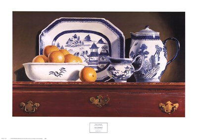 Tea & Oranges Poster by Pauline Eble Campanelli for $40.00 CAD