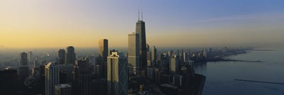 Buildings in Chicago, Illinois Poster by Panoramic Images for $80.00 CAD
