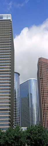 Wedge Tower, ExxonMobil Building, Chevron Building, Houston, Texas Poster by Panoramic Images for $80.00 CAD