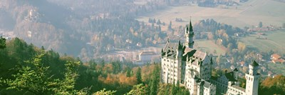 Neuschwanstein Castle Schwangau Bavaria Germany Poster by Panoramic Images for $80.00 CAD