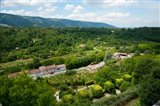 Aerial view of a plant nursery, Menerbes, Vaucluse, Provence-Alpes-Cote d'Azur, France