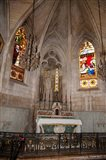 Interiors of the Church Of St. Trophime, Arles, Bouches-Du-Rhone, Provence-Alpes-Cote d'Azur, France