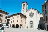 Low angle view of a church, Church of San Fedele, Piazza San Fedele, Como, Lombardy, Italy