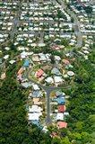 Exclusive houses on hilltop cul-de-sac, Toogood Road, Bayview Heights, Cairns, Queensland, Australia