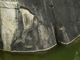 Elephant Carved into Rock, Anuradhapura, Sri Lanka