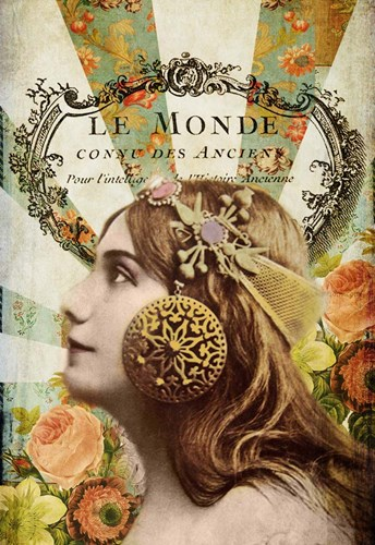 Le Monde Poster by Sandy Lloyd for $41.25 CAD