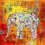Mosaic Elephant II
