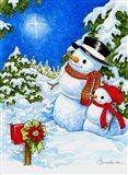 Sparkling Snowmen