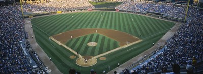 High angle view of spectators in a stadium, U.S. Cellular Field, Chicago White Sox, Chicago, Illinois, USA Poster by Panoramic Images for $86.25 CAD