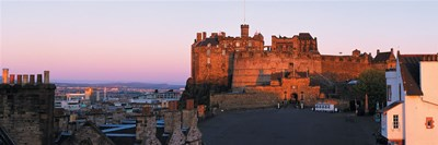 Castle in a city, Edinburgh Castle, Edinburgh, Scotland Poster by Panoramic Images for $86.25 CAD
