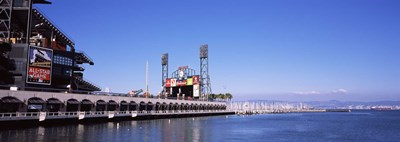 Baseball park at the waterfront, AT&T Park, San Francisco, California, USA Poster by Panoramic Images for $86.25 CAD