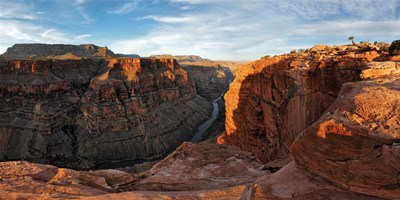 River passing through mountains, Toroweap Point, Grand Canyon, Grand Canyon National Park, Arizona, USA Poster by Panoramic Images for $116.25 CAD