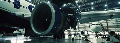 Airplanes in a hangar, Mirabel Airport, Montreal, Quebec, Canada Poster by Panoramic Images for $67.50 CAD