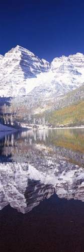 Maroon Bells, Aspen, Pitkin County, Colorado Poster by Panoramic Images for $71.25 CAD
