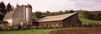 Old barns, Palouse, Whitman County, Washington State Poster by Panoramic Images for $86.25 CAD