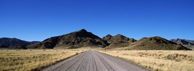 Desert road from Aus to Sossusvlei, Namibia Poster by Panoramic Images for $71.25 CAD