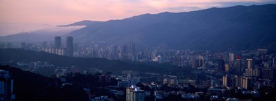 Caracas, Venezuela 2010 Poster by Panoramic Images for $90.00 CAD
