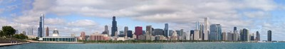 City at the waterfront, Lake Michigan, Chicago, Cook County, Illinois, USA 2010 Poster by Panoramic Images for $86.25 CAD