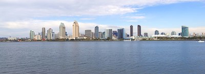 Buildings at the waterfront, San Diego, San Diego County, California, USA 2010 Poster by Panoramic Images for $86.25 CAD
