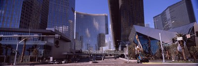 Skyscrapers in a city, Citycenter, The Strip, Las Vegas, Nevada, USA 2010 Poster by Panoramic Images for $86.25 CAD