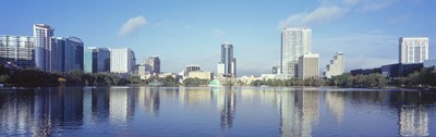 Lake Eola Waterfront, Orlando, Florida Poster by Panoramic Images for $86.25 CAD