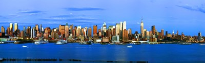 Manhattan skyline, New York City, New York State, USA Poster by Panoramic Images for $86.25 CAD