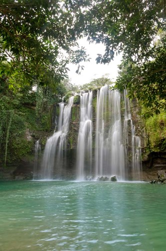 Llanos De Cortez Waterfall, Costa Rica Poster by Panoramic Images for $62.50 CAD